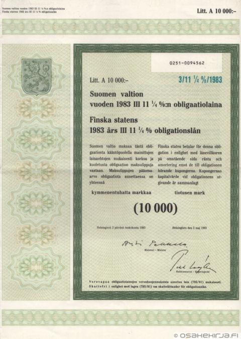 Valtion Obligaatio