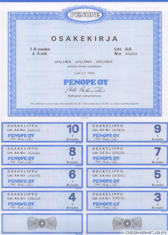 Helsingin Uusi Hattutehdas Oy Helsingfors Nya Hattfabrik Ab ... 74e8301f86