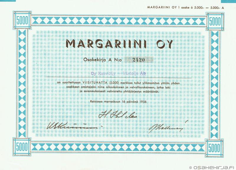 Margariini Oy - Osakekirja.fi e2ceee4758